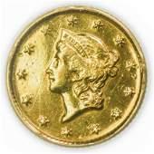 1853 $1 Gold Liberty Type 1