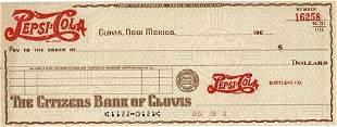 196_ Clovis, New Mexico Citizens Bank of Clovis Check