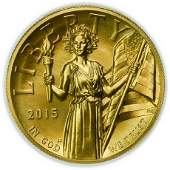 2015-W $100 Liberty High Relief PCGS MS-70