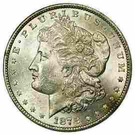 1878 7/8 TF Morgan Dollar