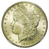1884-CC Morgan Dollar NGC MS-64
