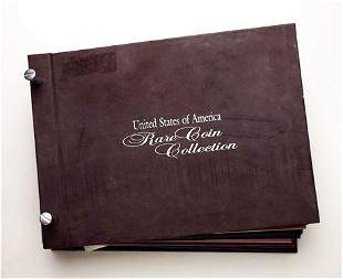 American 'Rare' Coin Collection Book Dimes to Cents,