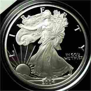 2004 Proof Silver Eagle in Original Box