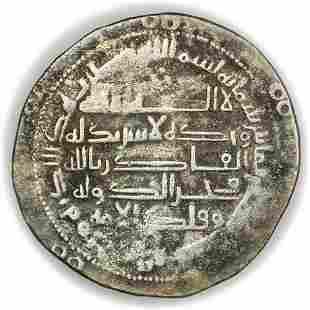 BUWAYHID. 388AH AR Dirham Samsam al-Dawla