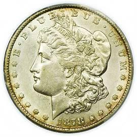 1878-CC Morgan Dollar PCGS Genuine Cleaned-AU Detail