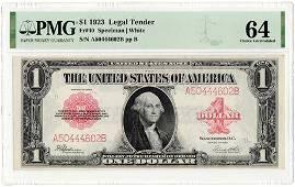 Fr.40 1923 $1 Legal Tender Note Speelman | White PMG