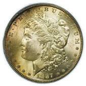 1887-S Morgan Dollar PCGS MS-64