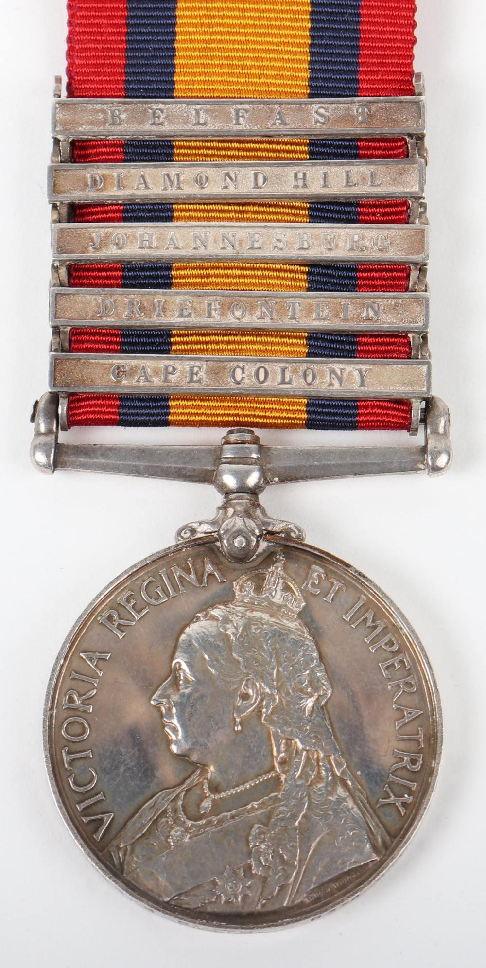 Victorian Queens South Africa Medal Royal Field