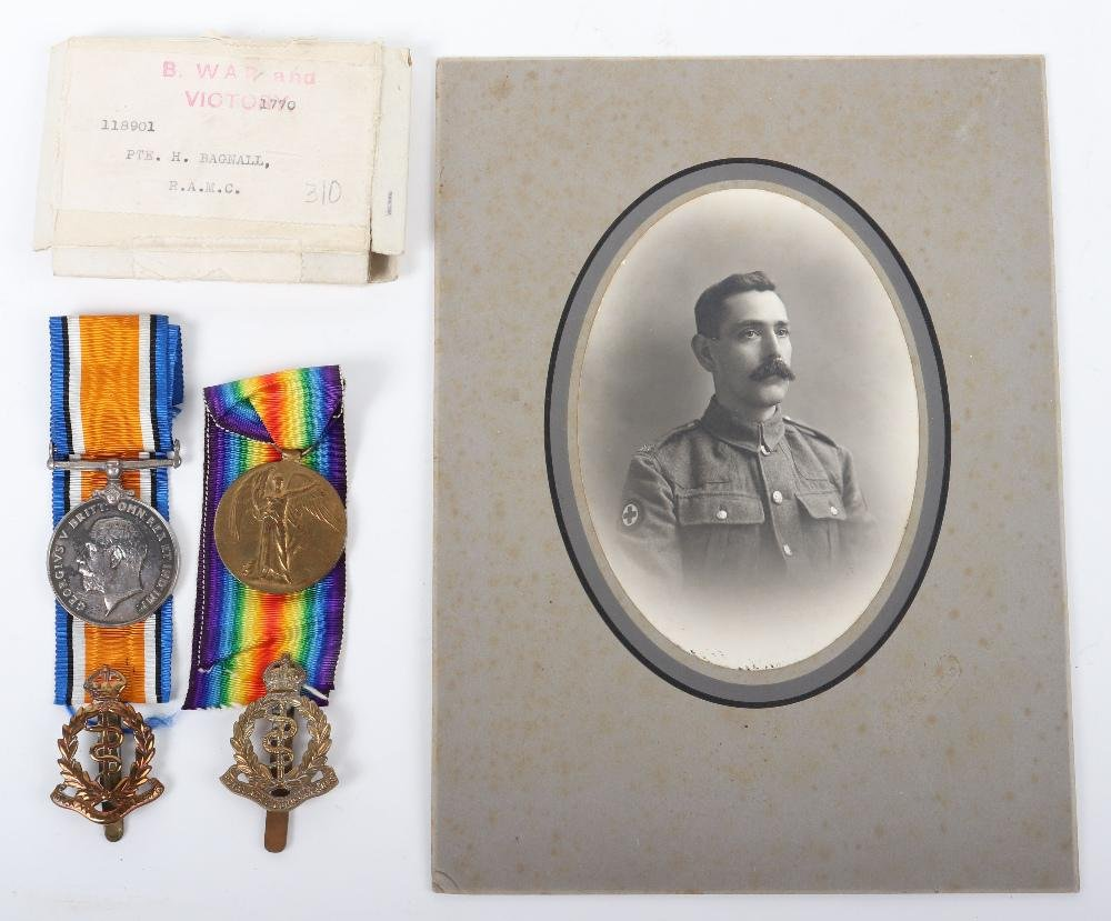 WW1 Royal Army Medical Corps Medal Group