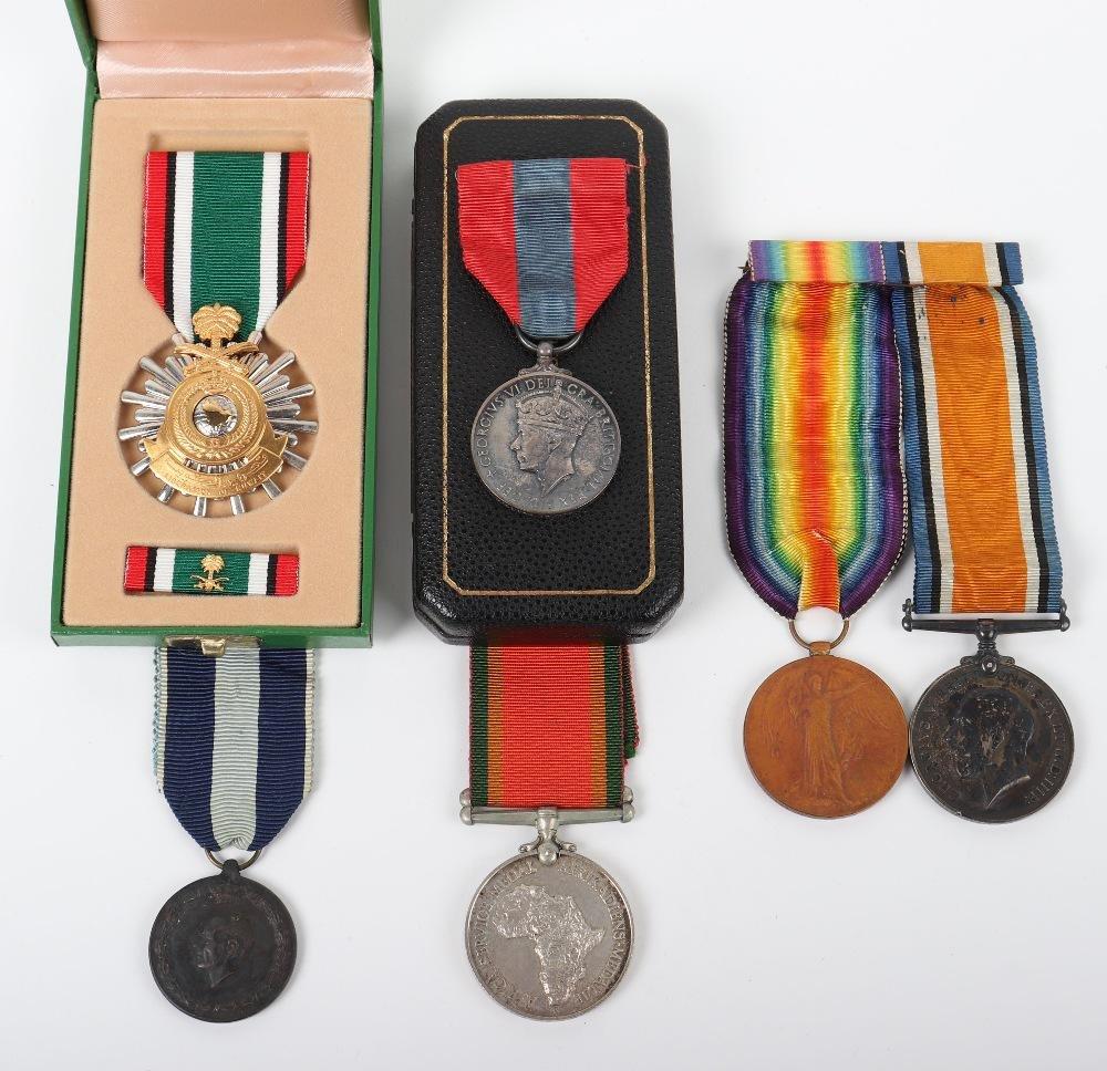 WW1 British Medal Pair Royal Artillery