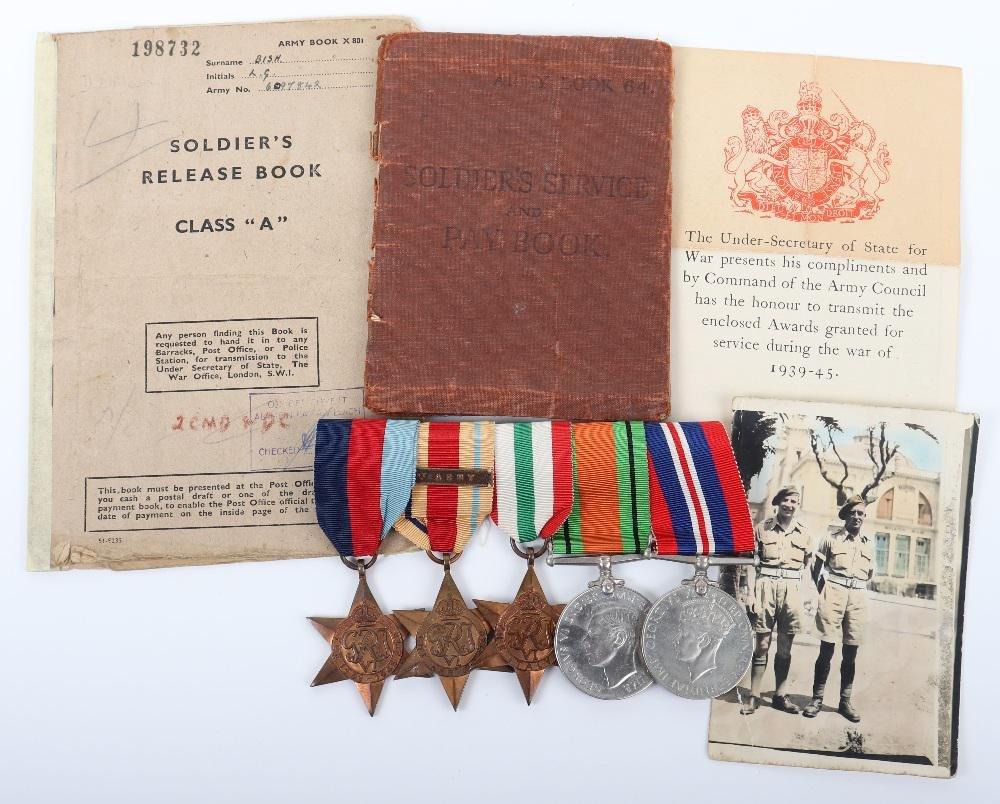 WW2 Hampshire Regiment / Popski Private Army Medal