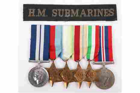 WW2 Submariners Distinguished Service Medal (D.S.M)