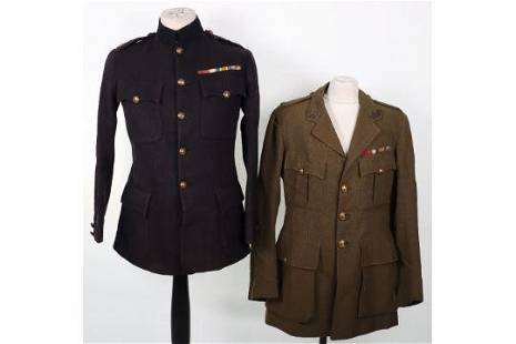Tunics of WW1 Gloucestershire Regiment Distinguished