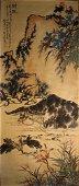Vertical Painting  by Pan Tianshou