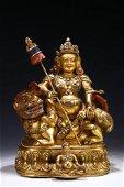 Gilt Copper Buddha