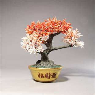 chinese natural jardiniere ornament