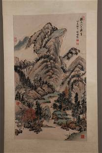 chinese qi gong's painting