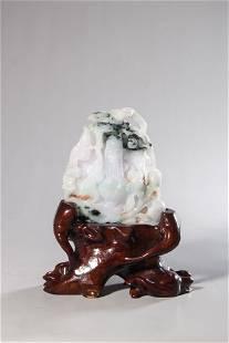 chinese jadeite shanzi ornament