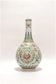 chinese doucai porcelain bottle vase
