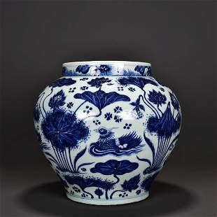 chinese blue and white porcelain ware