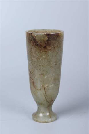 chinese jade cup
