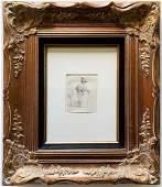 Rembrandt Original Etching Framed