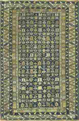 Antique Caucasian  Kazak Rug Circa 1900