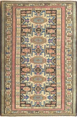 Antique Caucasian Rug, Circa 1890