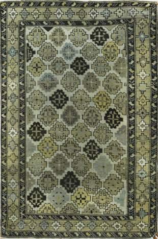 Antique Caucasian Kazak Rug, Circa 1890