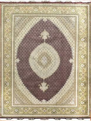 Vintage Tabriz  Persian Mahi  Design Rug