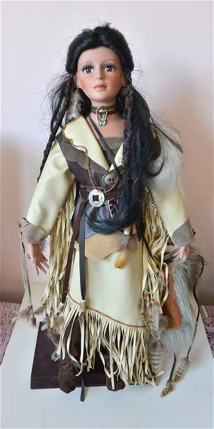 Timeless Collection Native American Indian Doll