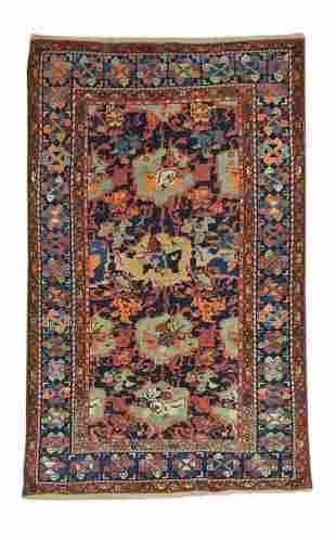Vintage Zanjan Persian Rug