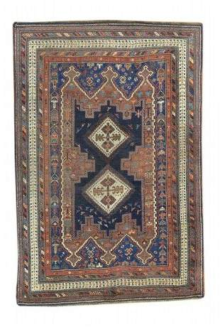 Antique Afshar Tribal  Persian Rug, Circa 1890