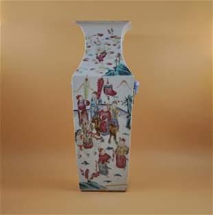 18-19th century pastel vase