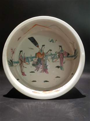 Mid Qing dynasty large brush wash