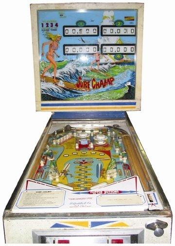 4M: Surf Champ' Pinball Machine