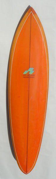 """""""Surf Line Hawaii shaped by Barry Kanaiaupuni"""