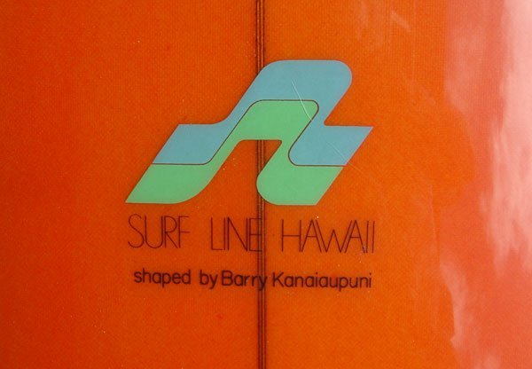 "9M: ""Surf Line Hawaii shaped by Barry Kanaiaupuni  - 4"