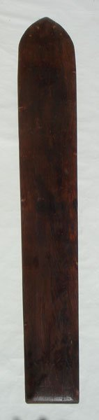 17M: Waikiki Redwood Plank Circa 1920's