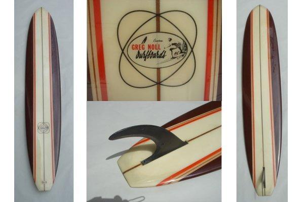 53M: Greg Noll Hawaii speed shape by Charlie Galanto
