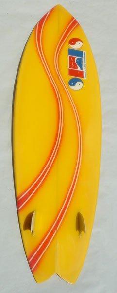 74M: Larry Bertlemann Hawaiian Pro Design Twin Fin  - 2