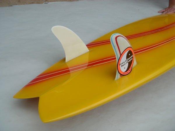 74M: Larry Bertlemann Hawaiian Pro Design Twin Fin  - 4