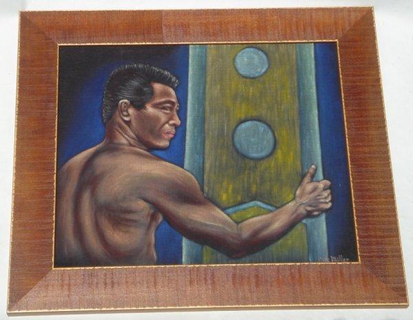 95M: 1950's Black Velvet Art by Perc Miller