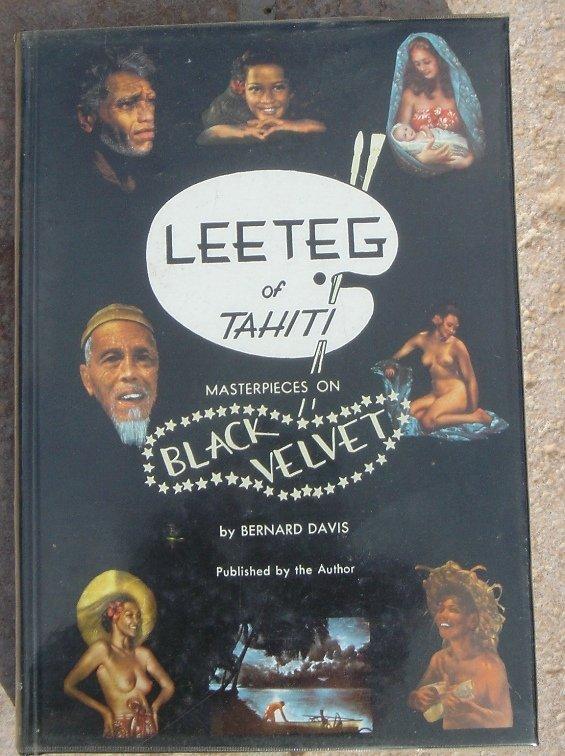 95M: 1950's Black Velvet Art by Perc Miller  - 2