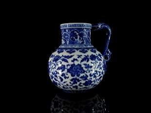 A Fine Blue and White Flower Vase
