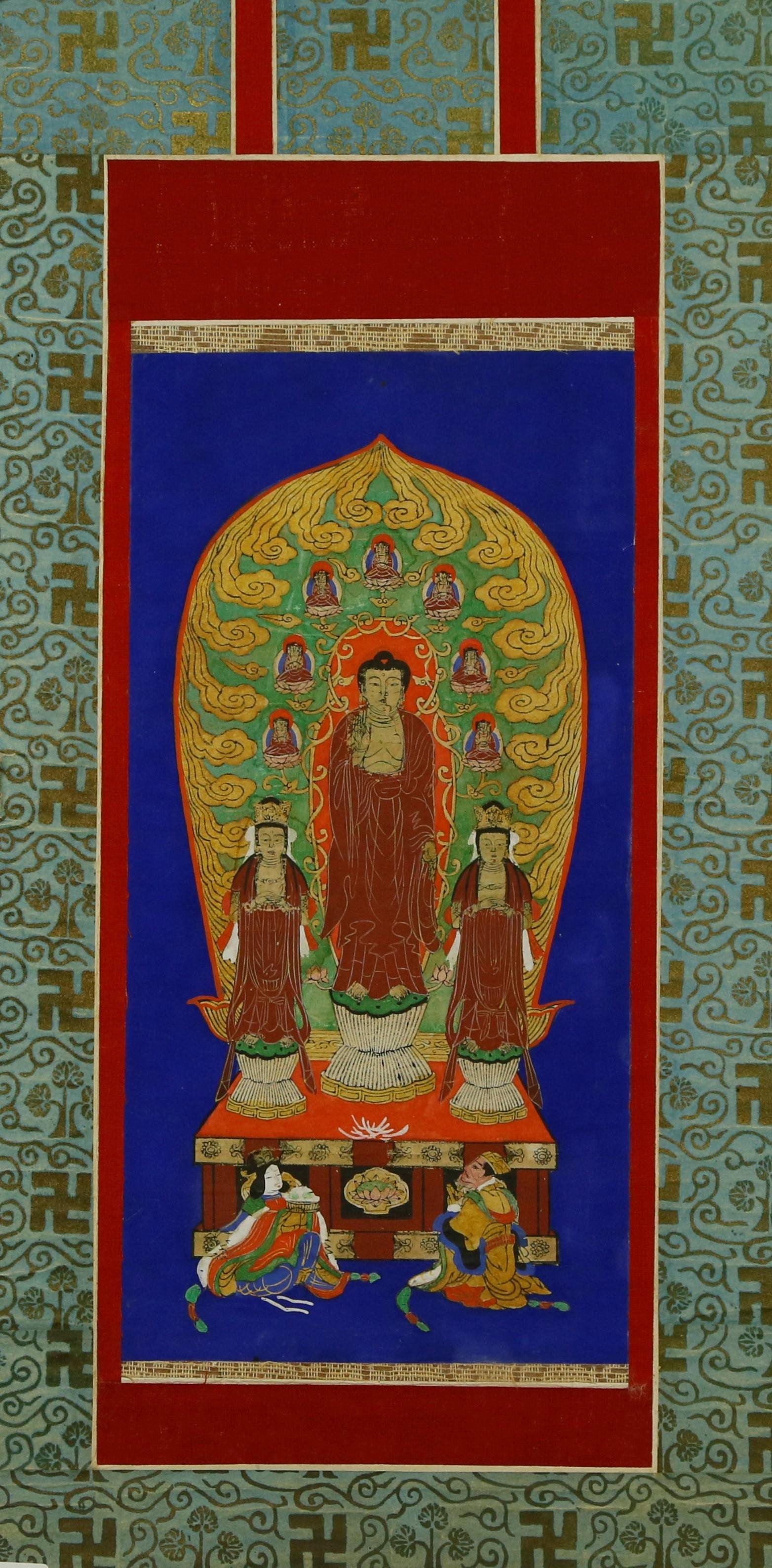 A Painting of Buddha