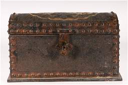 A Fine and Rare GiltBronze Book Box