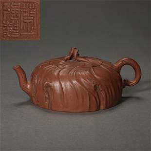 ANCIENT CHINESE CELEBRITIES BOCCARO TEAPOT