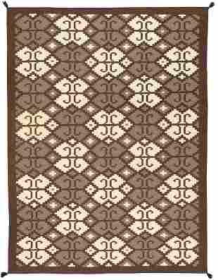Hand-Woven Navajo Style Area Rug