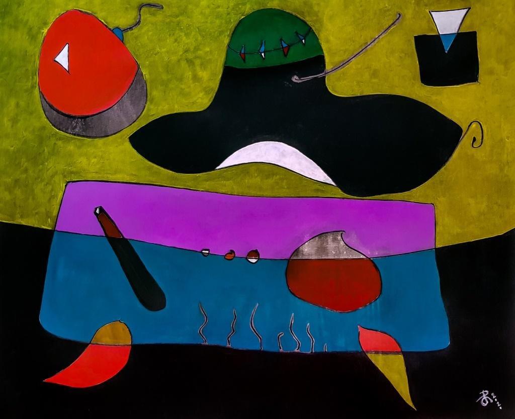 Arvydas Gaiciunas /RETNE Lithuanian Expressionist